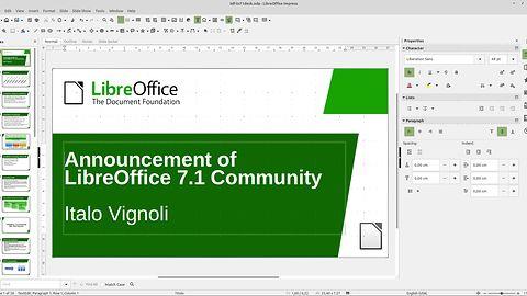 """LibreOffice 7.1 Community dostępny do pobrania. Nowe wydanie pakietu """"dla zwykłych ludzi"""""""