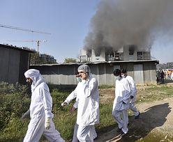 Spłonęła największa fabryka szczepionek na koronawirusa. Co będzie z dostawami?