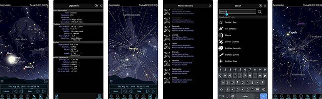 Aplikacja Sky Safari
