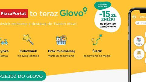 Definitywny koniec PizzaPortal.pl. Serwis zamienia się w Glovo
