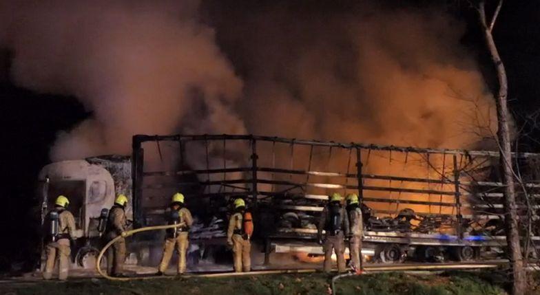 Śmierć Polaka w Belgii. 63-letni mężczyzna spłonął żywcem