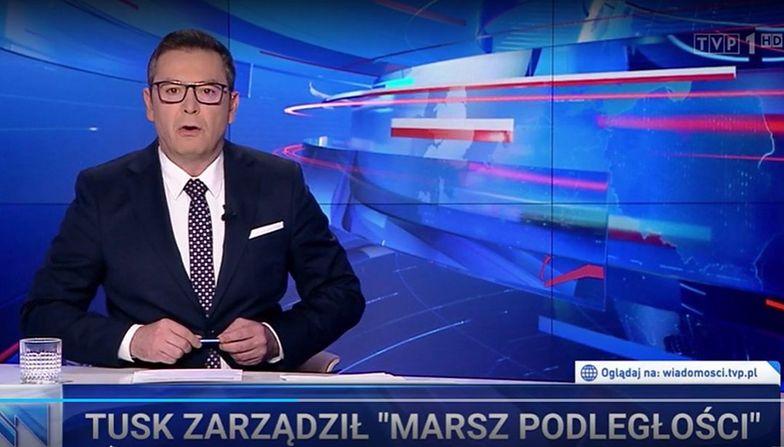 """""""Wiadomości"""" TVP pokazały Tuska. Skupiły się głównie na jednym"""