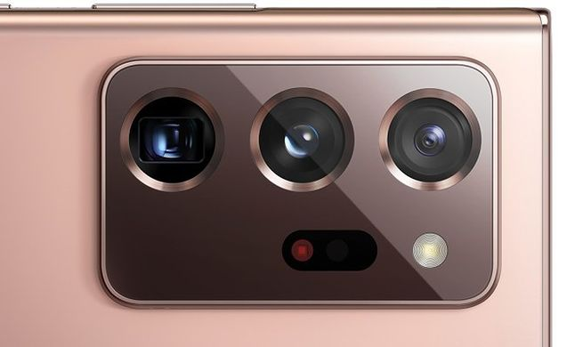 potrójny aparat w Samsung Galaxy Note 20 Ultra, fot. WinFuture