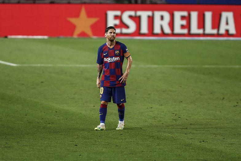 Szok w Barcelonie. Kibice opłakują decyzję Leo Messiego