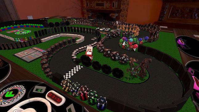 Tabletop Simulator pozwala na wspólną grę w planszówki na komputerze, fot. Berserk Games