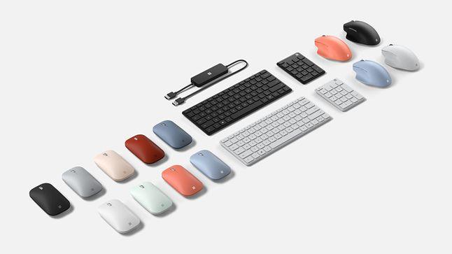 Akcesoria do komputerów Surface, fot. Microsoft.