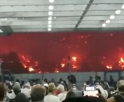 Grecja wciąż płonie. Przerażające nagrania z ewakuacji