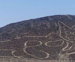 Niesamowite odkrycie w Peru. Rysunek kota na zboczu góry