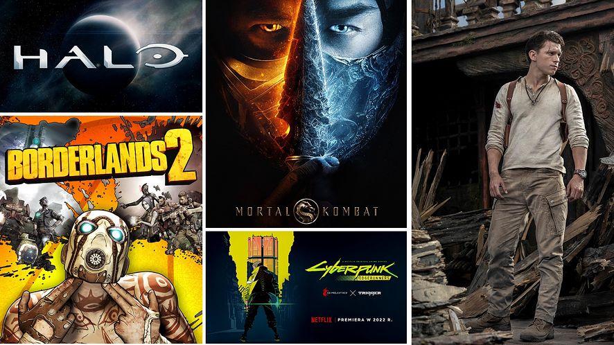 Nadchodzi zalew filmowych adaptacji gier