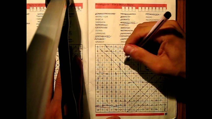 Wykreślanki - nauka ortografii, spędzanie wolnego czasu, nauka angielskiego, wykreślanki interaktywne