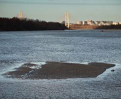 Susza w Polsce. Stan wody w Wiśle opada. Aktualnie wynosi już niecałe 50 cm
