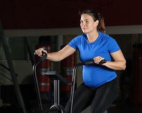 Jazda na rowerze w ciąży