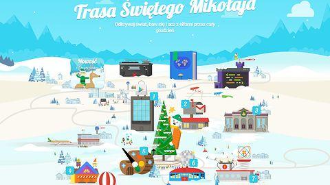Aplikacja dnia: Trasa Świętego Mikołaja w Google