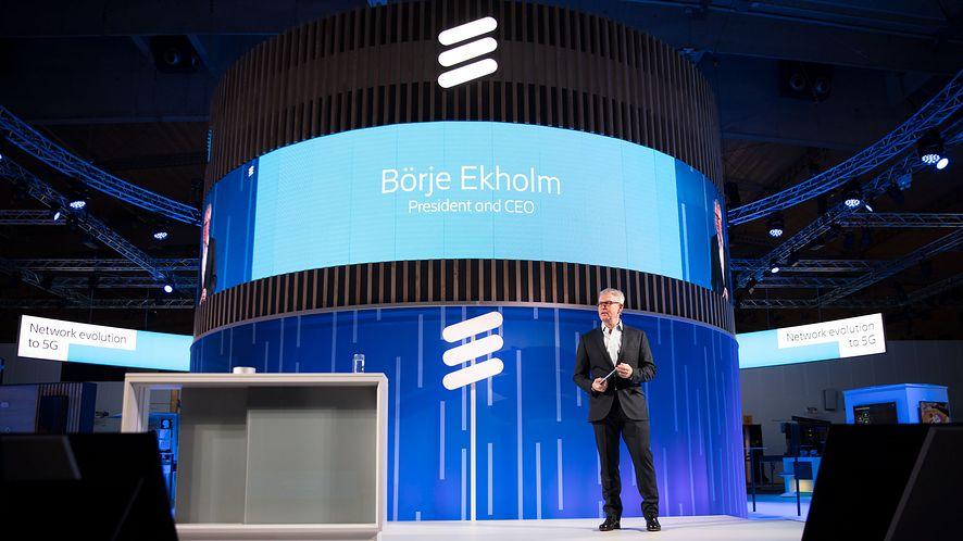 Börje Ekholm, prezes firmy Ericsson, zapowiada uruchomienie 5G w 2019 roku