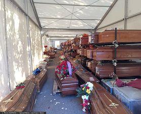 Koronawirus. Dramat na Sycylii. 870 trumien czeka na pochówek w namiotach
