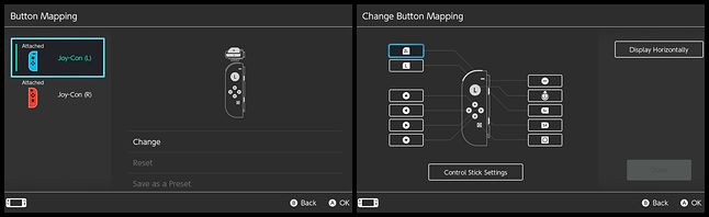 Tak wygląda ekran opcji z konfiguracją przycisków, fot. Jakub Krawczyński