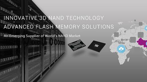 Chińskie YMTC wprowadza 64-warstwowe kości NAND flash