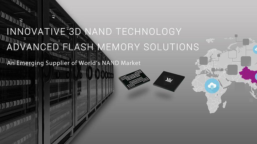 Chińska firma YMTC coraź śmielej walczy na rynku NAND flash (Fot. YMTC)