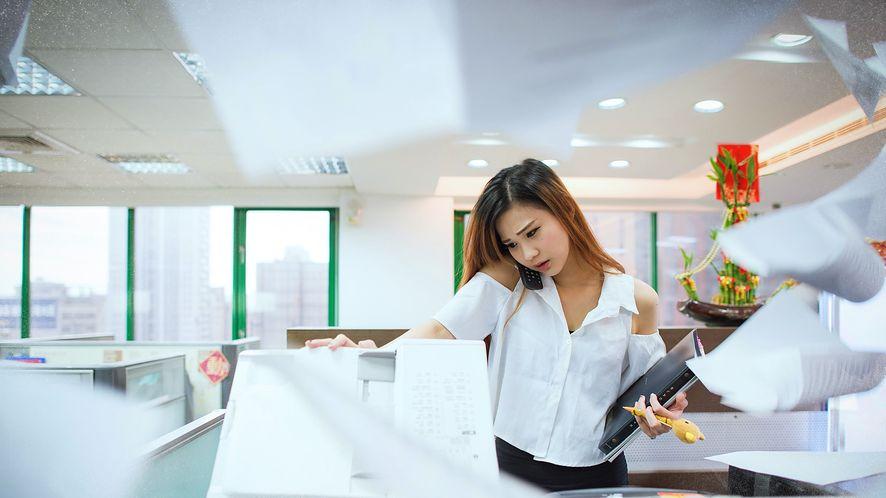 Biuro bez papieru? To niewykonalne, firmy nie mogą żyć bez drukarek