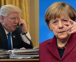"""""""Trump zadzwonił do Merkel, powiedzieć, że jest głupia"""". Wiadomo, jaka była reakcja"""