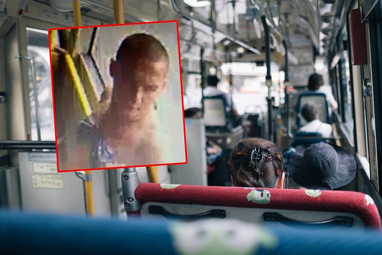 Wstrząsający obrazek z Poznania. Szukają mężczyzny z autobusu