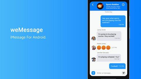 Da się rozmawiać przez iMessage na Androidzie. Pytanie, jak długo