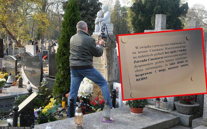 Kamery mają pomóc w walce z cmentarnymi złodziejami