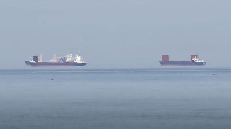 Nagranie z Gdyni. Niesamowity widok na Zatoce Gdańskiej