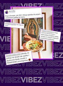 Aresztowali obraz w pizzerii, bo obrażał uczucia religijne. Tak, ten kraj to mem