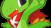 Za co lubię środowisko K Desktop Environment? - Konqi, jest oficjalną maskotką środowiska graficznego