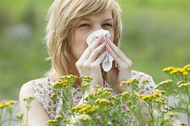 Alergie na pyłki kwiatowe
