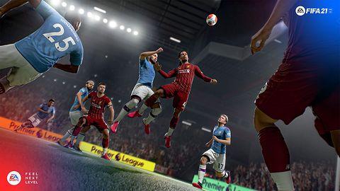 FIFA 21. Glitch, który z miejsca poprawi ci humor