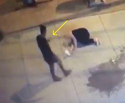 Pobił kobietę do nieprzytomności. Zamiast wezwać pomoc, przechodnie robili sobie z nią zdjęcia