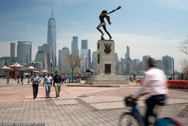 """Nagły zwrot ws. pomnika w Jersey City. """"Nie można go ruszyć"""""""