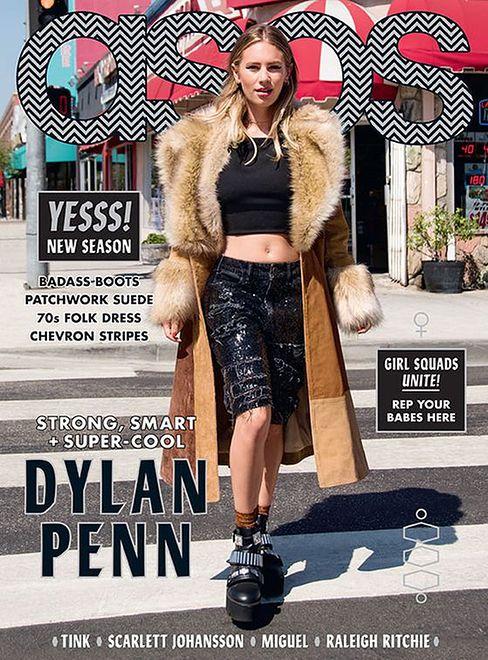 Dylan Penn w sesji dla ASOS Magazine