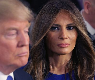 Melania Trump nie odwzajemniła uścisku męża