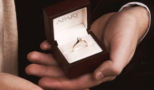 Najmodniejsze pierścionki zaręczynowe