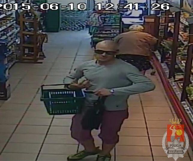 Policja poszukuje złodzieja. Rozpoznajesz tego mężczyznę?