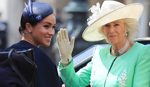 Księżna Camilla wściekła na Meghan Markle. Żona Harry'ego skradła jej całe show