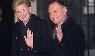 Andrzej Duda i Agata Kornhauser-Duda pokazali choinkę