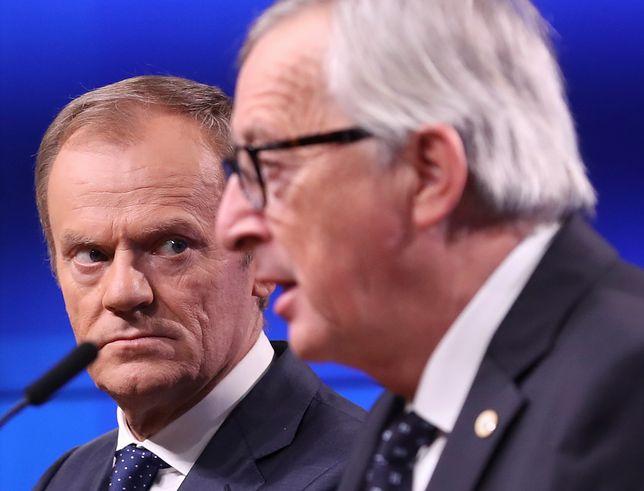 Przewodniczący Rady Europejskiej i Komisji Europejskiej
