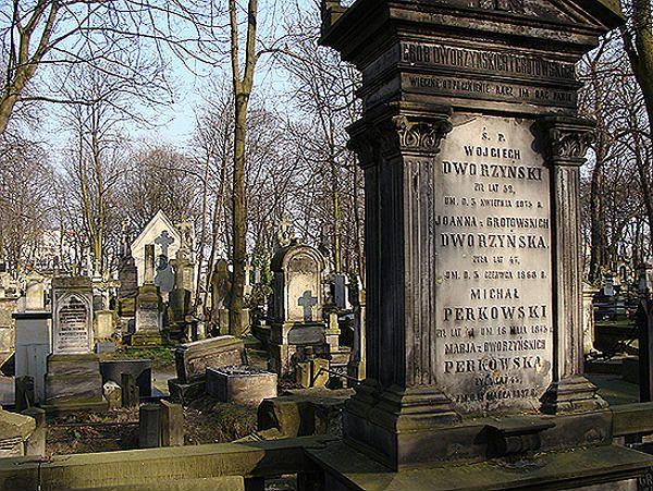 Nagrobki na Cmentarzu Powązkowskim