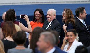 Trump przywitał Wałęsę. Na początku rozległy się oklaski, gdy nagle...