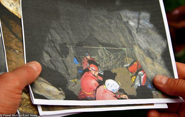 Tatry. Zdjęcia z akcji w Jaskini Wielkiej Śnieżnej