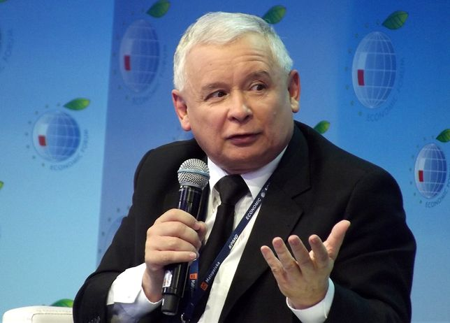Podczas konwencji wystąpił prezes PiS Jarosław Kaczyński