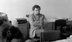 Jarosław Kaczyński w 1990 roku