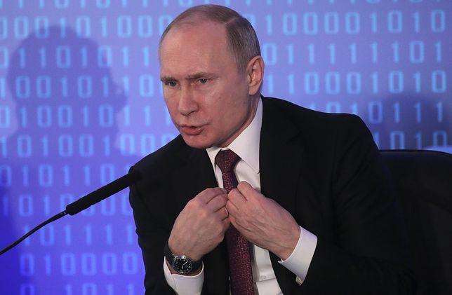 Katastrofa samolotu pod Moskwą. Władimir Putin złożył kondolencje