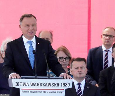 15 sierpnia. 100. rocznica Bitwy Warszawskiej. Andrzej Duda: Ta Polska ufundowana jest na krwi pokoleń