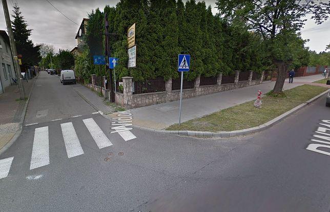 Tomaszów Mazowiecki. Do porwania doszło na skrzyżowaniu ulic.