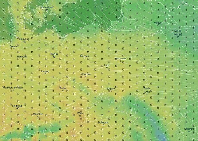 Wyż Frauke nad Polską. W czwartek nawet 15 stopni